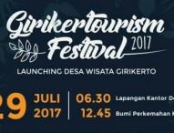 Ngeteh Bareng 1000 Orang di Girikertourism Festival 2017