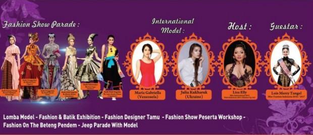 Ngawi Batik Fashion 2017