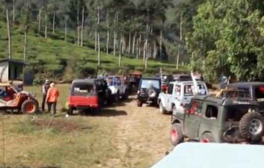 Bupati Ngawi Ajak Ratusan Offroader Kunjungi 9 Wisata di Ngawi