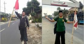 Lelaku Sam WES Long March Malang-Jakarta
