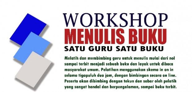 Workshop Menulis Satu Guru Satu Buku