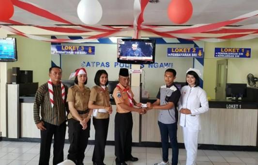 Agus Hariyanto, Salah Satu Penerima SIM Gratis dari Polres Ngawi