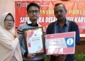 Elky Bangkit Sura Pradana Pemenang Desain Tugu Kartonyono
