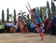 Ratusan Pelajar Ikuti Lomba Permainan Tradisional di Alun-alun Ngawi