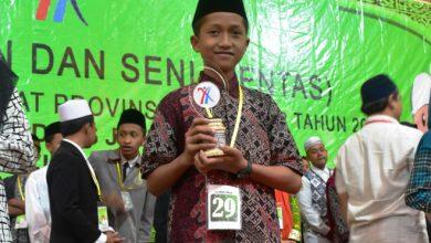 Photo of Mu'in Siswa SMPIT Harum Juarai MHQ Pentas PAI Jawa Timur