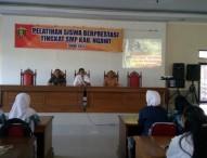 Dinas Pendidikan Ngawi Adakan Pelatihan Siswa Berprestasi tingkat SMP