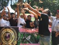 60 Ekor Perkutut Dilepaskan di Bumi Selondo dalam FGB 2017