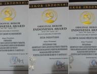 Festival Gravitasi Bumi Mendapat Penghargaan dari Original Rekor Indonesia