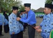 26 Pegawai Kemenag Ngawi Terima Satyalencana Karya Satya