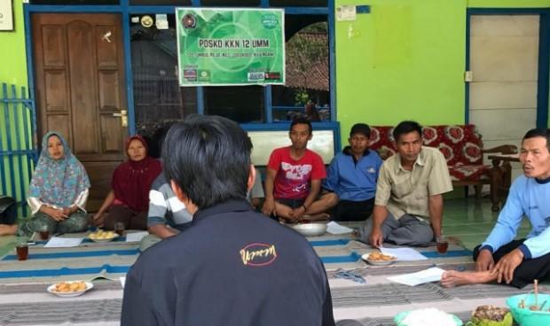 Mahasiswa UMM Berikan Penyuluhan Pestisida Organik di Umbulrejo