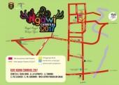 Inilah Rute Ngawi Carnival 2017