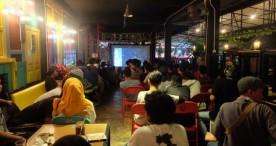 Ratusan Penonton Ini Datang Apresiasi Film Karya Pemuda Ngawi