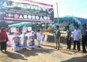 Ribuan Santri Ikuti Pawai 1 Muharram di Kecamatan Pitu