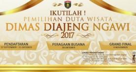 Petunjuk Teknis Tahapan Seleksi Dimas Diajeng Ngawi 2017
