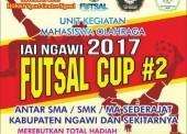 Tunjukkan Spotivitas dan Kualitasmu di Kompetisi IAI Ngawi Futsal Cup 2