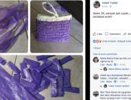 Kreatif, Indah Yuliati Membuat Tas Cantik dari Bahan Plastik Bekas