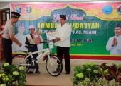 Yusfiana Andrian Pemenang Lomba Da'i Da'iyah Polres Ngawi Siap Menuju tingkat Provinsi