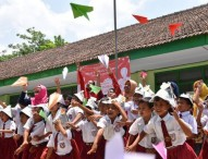 Tersebar di 8 Zona, Relawan Kelas Inspirasi 3 Ngawi Mengenalkan Profesinya