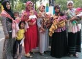 Ngawi Baby Wearers Ajak Masyarakat Gendong Bayi Sesuai Anatomi Tubuh