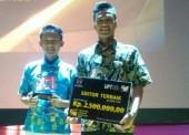SMA 1 Jogorogo Raih Penghargaan Editor Terbaik dalam FSS 2017