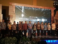 Ngawi Raih Juara 3 Kategori Daya Tarik Wisata Budaya dalam Anugerah Wisata Jatim 2017