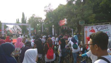 Photo of Suasana Gowes Pencanangan Hari Bersepeda Nasional di Ngawi