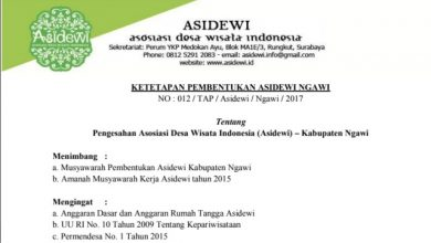 Photo of Kepengurusan Asidewi Kabupaten Ngawi Telah Ditetapkan Secara Sah dan Legal