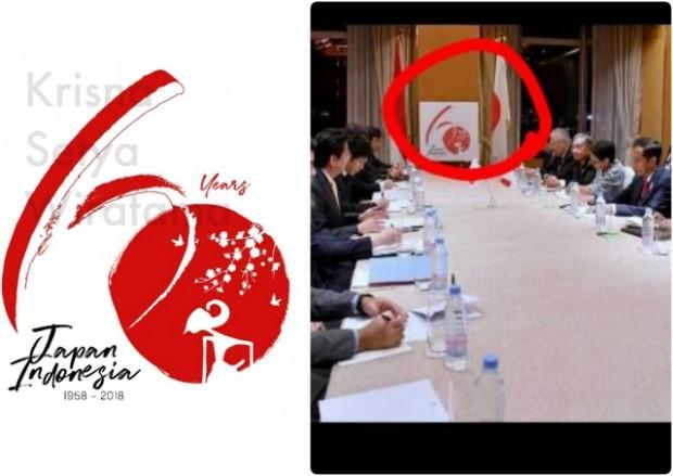Krisna Menjadi Pemenang Lomba Logo Peringatan 60 Tahun Hubungan Diplomatik Jepang-Indonesia