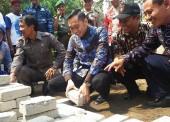 Ibas Mampir Desa Semen Usai Hadiri Pernikahan Putra Jokowi