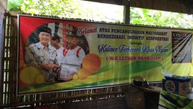 Photo of Lethok Pecel Mbah Jan Kuliner Terfavorit Khas Ngawi
