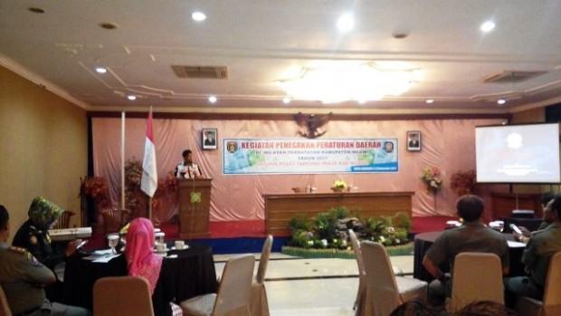 Satpol PP Ngawi Adakan Kegiatan Penegakan Peraturan Daerah