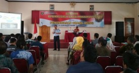 Seminar Optimalisasi Fungsi Masyarakat dalam Pengawasan Orang Asing Kesbangpol Ngawi