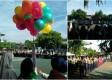 Upacara Peringatan Milad Muhammadiyah ke-108 di Kabupaten Ngawi bertempat di halaman SMP Muhammadiyah 5 Ngawi. Foto-KN