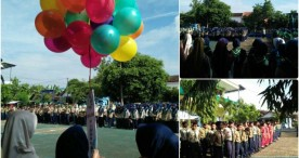 Upacara Peringatan Milad Muhammadiyah ke-108 di Kabupaten Ngawi