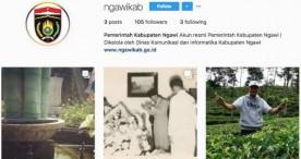 Akun Instagram Resmi Pemkab Ngawi