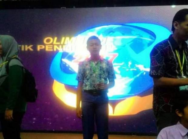 Ardhika, Siswa SMP 2 Kwadungan Tunjukkan Kebolehannya dalam Lomba TIK Tingkat Jatim