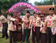 Pramuka Ngawi Dukung Gerakan Sejuta Biopori Pramuka Jatim 2017