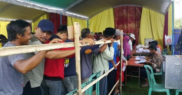 46 Ribu Lebih Pemilih Tetap di 13 Desa Hari Ini Gunakan Hak Pilihnya