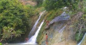 Wow, Ada Air Terjun Ini di Desa Kenongorejo