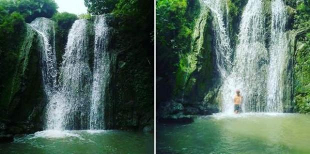 Dung Ampel Desa Gunungsari Memberikan Suguhan Air Terjun yang Keren