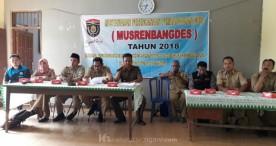 Suasana Musrenbangdes 2018 di Beberapa Desa Kabupaten Ngawi