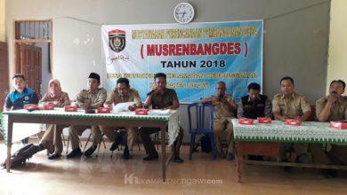 Photo of Suasana Musrenbangdes 2018 di Beberapa Desa Kabupaten Ngawi