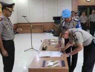 Kapolres Ngawi Pimpin Penandatanganan Pakta Integritas Anti Korupsi