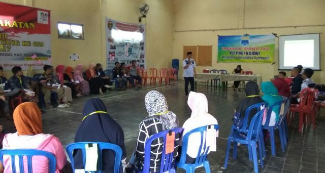 TOT PMII Ngawi: Menumbuhkan Kader Intelektual dan Transformatif, Balai Desa Ngrayudan, (12-15/01). Foto-Istimewa