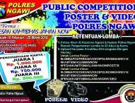 Lomba Poster dan Video Polres Ngawi 2018