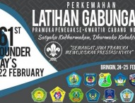 Pramuka Penegak se-Kabupaten Ngawi Agendakan Latihan Gabungan