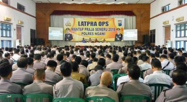 Latpra Ops Mantap Praja Semeru 2018 Polres Ngawi