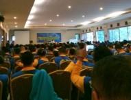 Peserta Jambore Netizen Polda Jatim Antusias Mendengarkan Materi dari Pakar Media