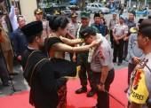 Kapolda Jatim dan Pangdam V Brawijaya Inspeksi Jalur Tol Surabaya-Ngawi