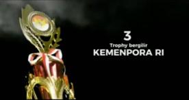 Inilah Piala yang Diperebutkan dalam Cendrawasih 2K18